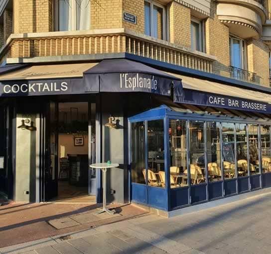 Bienvenue à l'Esplanade, la brasserie chic de Clichy