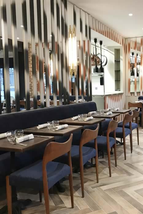 Brasserie l'Esplanade, salle